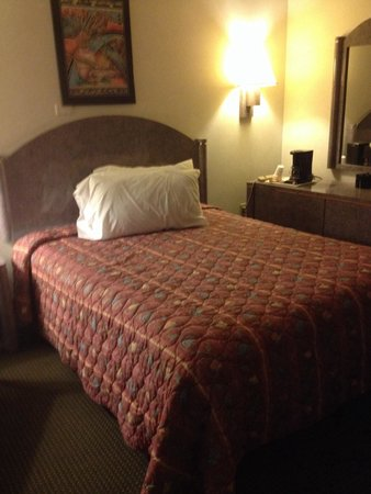 Florence Inns & Suites : Queen size bed