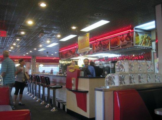 counter, Denny's, Harbison Blvd, Columbia, SC June 2014