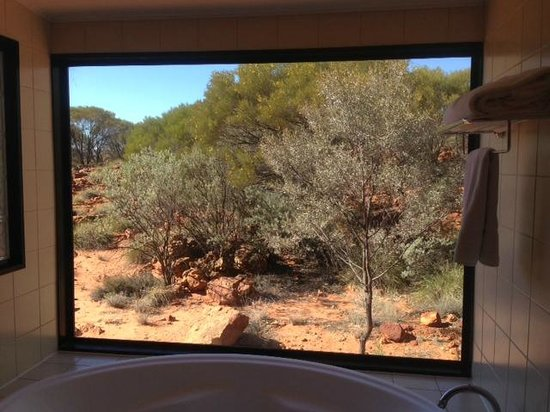 Kings Canyon, Australie : View from in room Spa