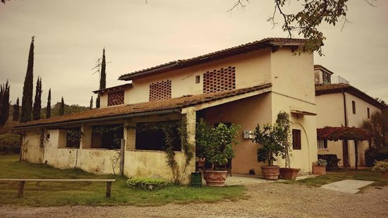Le Mandrie di Ripalta: Accomodation-the smaller house