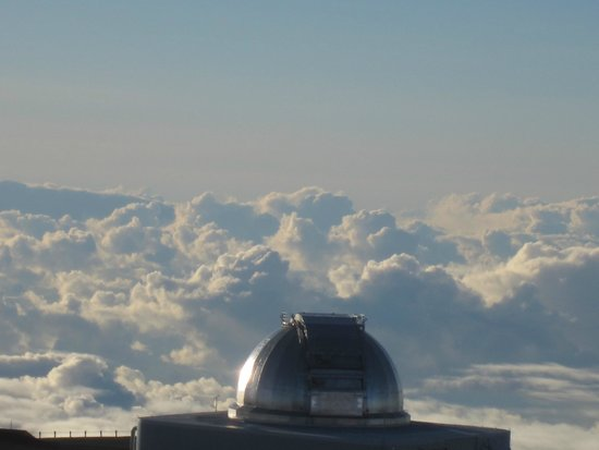 Mauna Kea Summit : looking out over the other side of the mountain
