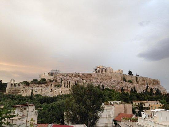 Acropolis View Hotel: View terraço