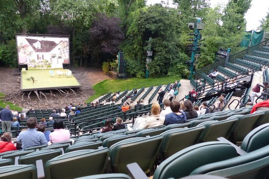 Open Air Theatre - the auditorium