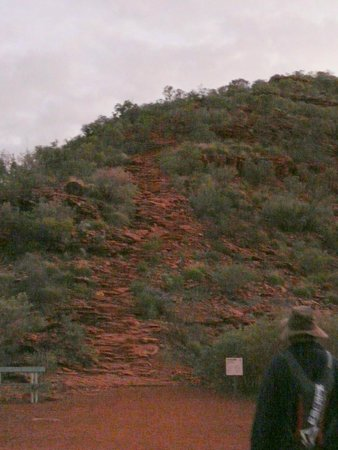 Kings Canyon: The way up to the rim