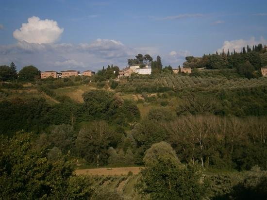 Agriturismo Marciano: View from our room.