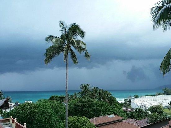 Karona Resort & Spa: Look at Seaview Room from the balcony