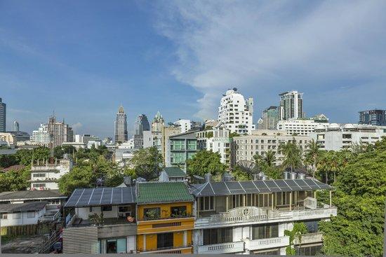 View from Hotel at Holiday Inn Express Bangkok Sathorn