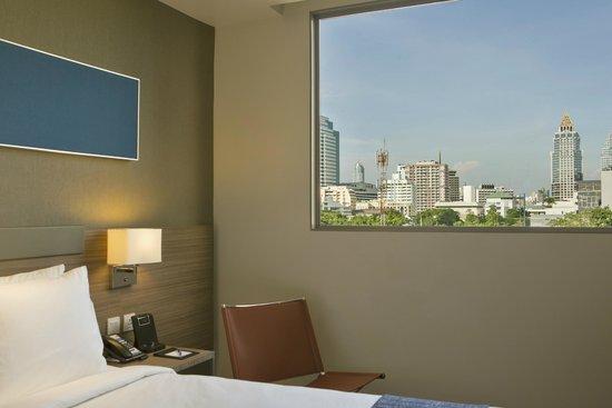 View from Room at Holiday Inn Express Bangkok Sathorn
