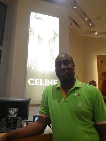 Celine Dion at the Colosseum at Caesars Palace : Me in the Colosseum store at Ceasars Palace