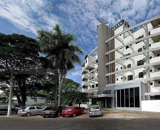 Mineiros, GO: Entrada do Hotel