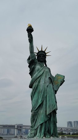 Hilton Tokyo Odaiba: Liberty replica