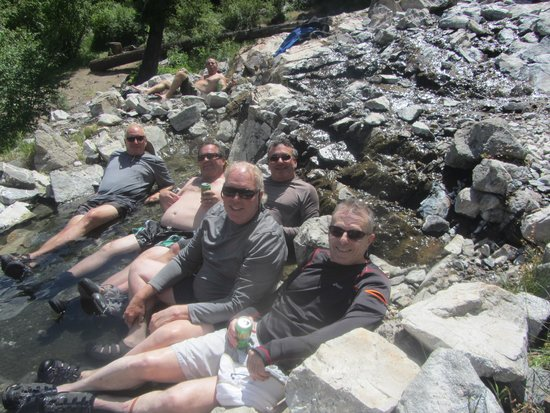 Middle Fork of the Salmon River: Fab Five in the Sunflower Hot Springs