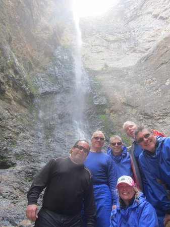 Middle Fork of the Salmon River: Six Guns at Nugget Creek Falls