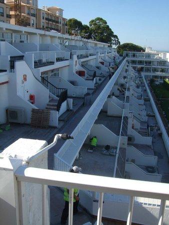 Muthu Clube Praia da Oura: Building works at CBDO