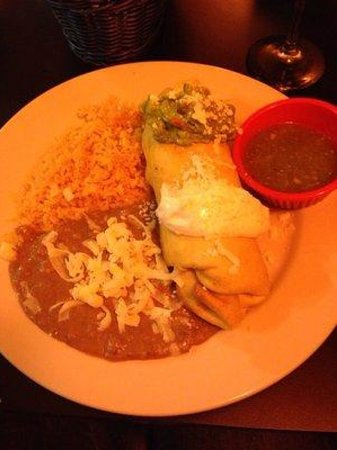 Cocina Michoacana: Chimichanga