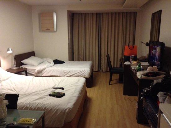 Gangnam Family Hotel: 部屋内部