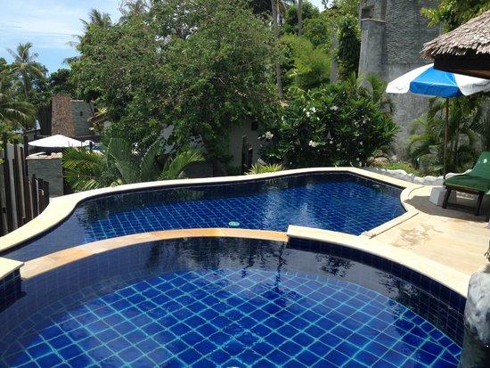 Panviman Resort - Koh Pha Ngan: unser Pool