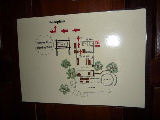 Panviman Resort - Koh Pha Ngan: Zimmeraufteilung