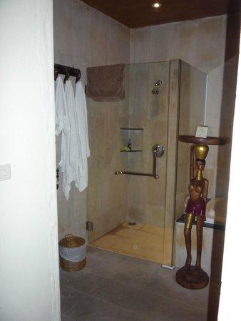 Panviman Resort - Koh Pha Ngan : Badezimmer linke Seite