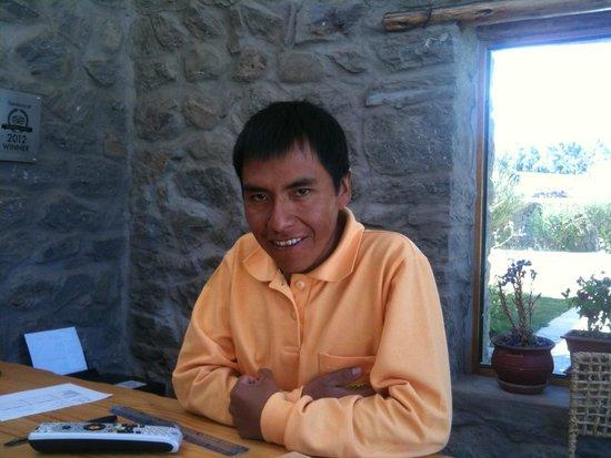 Killawasi Lodge: Jose-excellent, friendly staff member