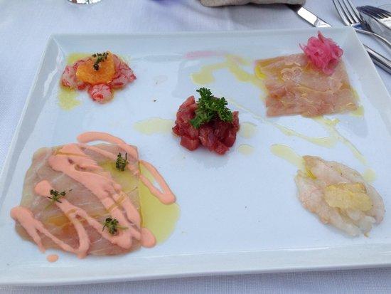 Restaurant Marina Grande: Meeresfrüchte