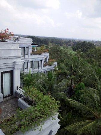 Hyatt Regency Yogyakarta: パノラマテラスから