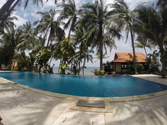 Sunshine Beach Ressort: infinity pool overlooking beach