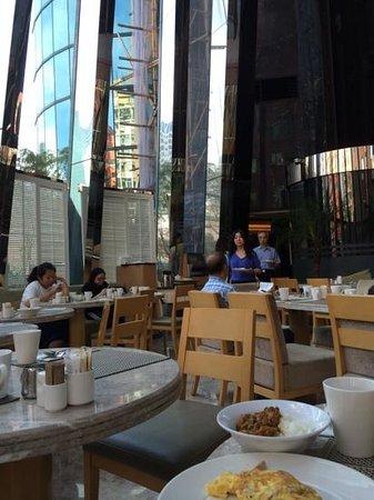 Eaton, Hong Kong: 朝食