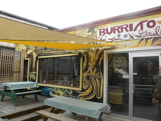 Burrito Grill: Fun, Sunny Patio!