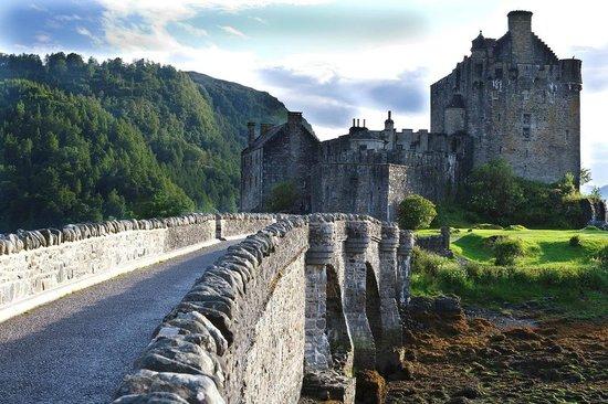 Eilean Donan Castle : Il ponte
