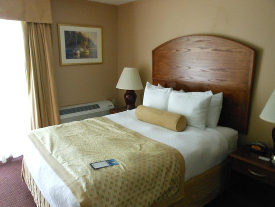 Best Western The Westerly Hotel : bed