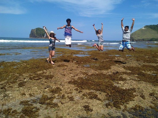holy week picture of diguisit rock formations baler
