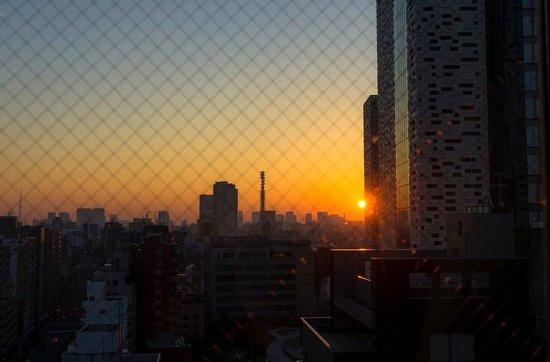 E Hotel Higashi Shinjuku: View from room