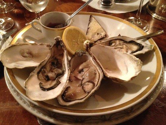 Heising: oysters