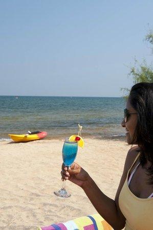 Pumulani: On the beach