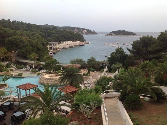 Amfora Hvar Grand Beach Resort: view from room 2206
