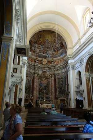 Church of St. Ignatius of Loyola: inside