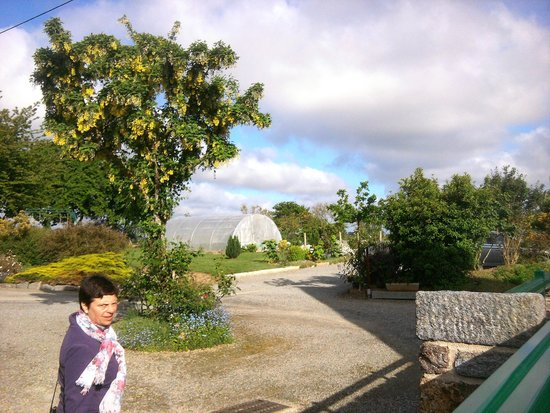 La Lande Grele : Les jardins