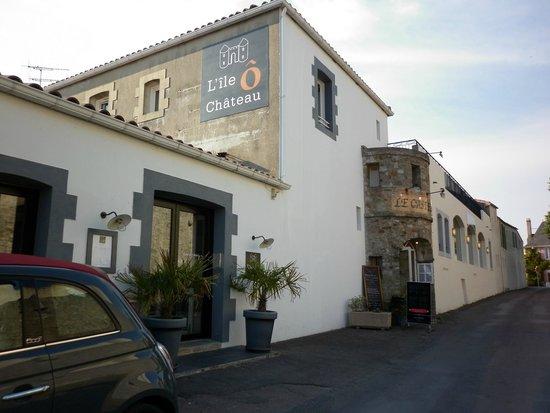 Hotel L'île ô Château : Vue extérieure