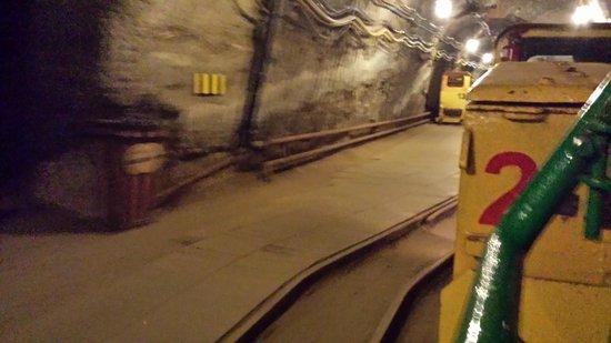 Bochnia Salt Mine: Railroad