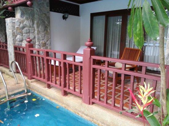 Thavorn Beach Village Resort & Spa : pool access villa