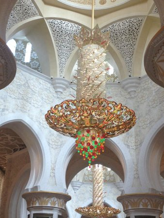Mezquita Sheikh Zayed: Record Breaking Chandelier