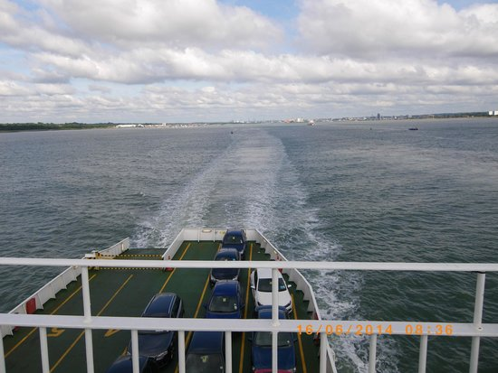 Red Funnel Ferries: Looking back