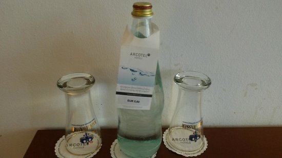 Arcotel Kaiserwasser: Price of welcome drink