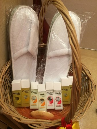 Ira Hotel & Spa: Toiletries