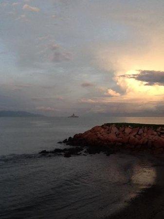Melia Puerto Vallarta All Inclusive: Lindo atardecer en Meliã