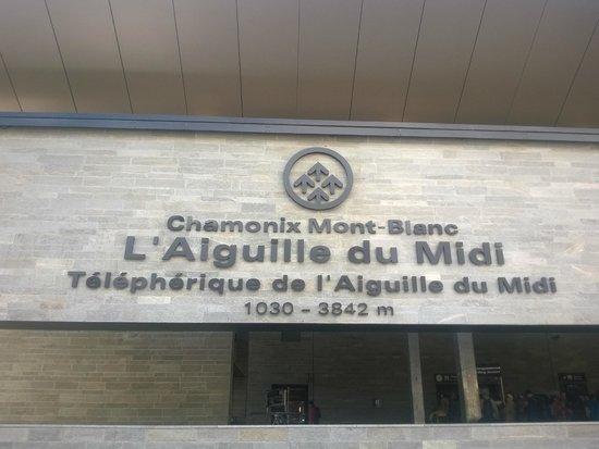 Aiguille du Midi: Partenza da Chamonix