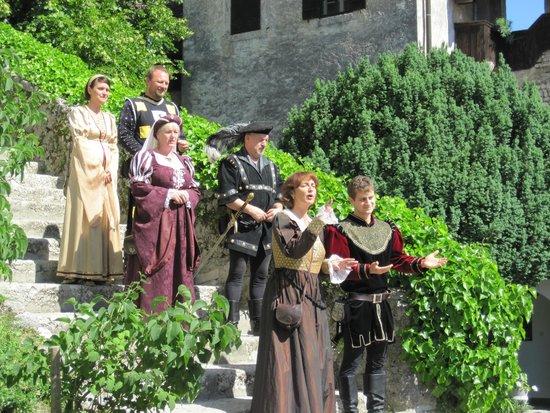 Castillo de Bled: Performers at Bled Castle