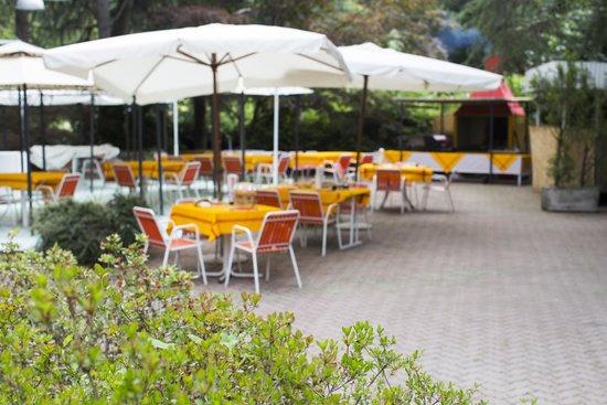 Ristorante La Fornarina: Il giardino