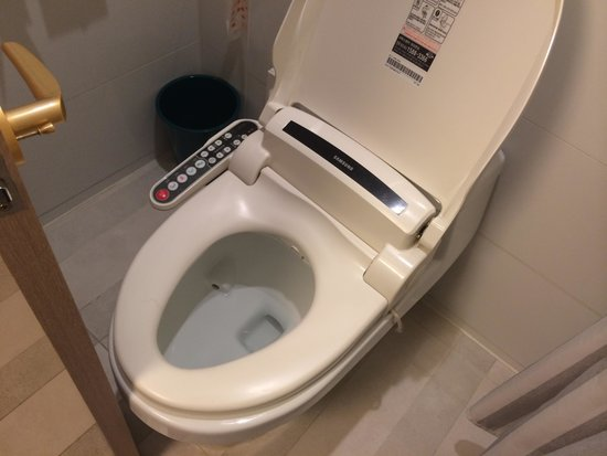 Hotel Samjung : トイレ